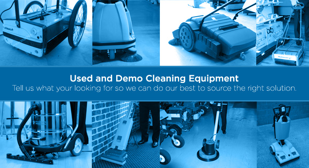 used-demo-cleaning-equipment