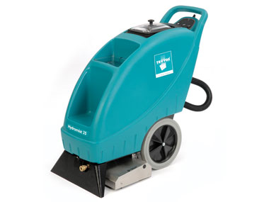 Commercial carpet cleaning machines