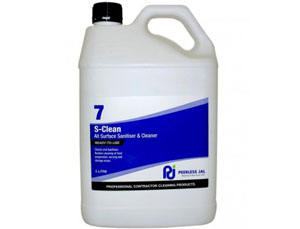 S-CLEAN Surface Sanitiser & Cleaner