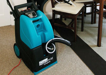 Customers save money with intelligent carpet cleaning technology