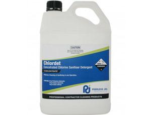 CHLOR DET Concentrated Chlorine Sanitiser Detergent