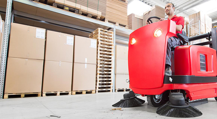Cost-Effective Cleaning with Industrial Sweepers