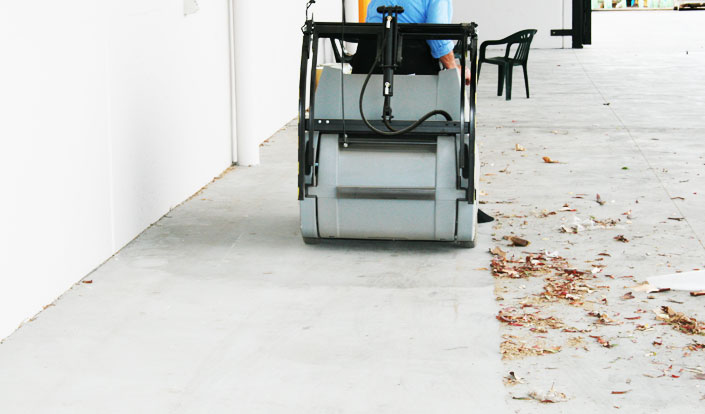 Why Should You Choose a Ride-On Sweeper?